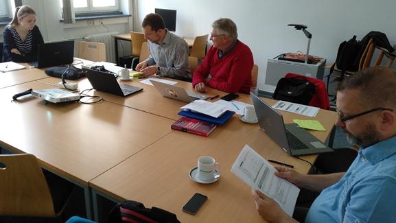 Uczestnicy projektu podczas spotkania Autor zdjęcia: dr Wojciech Zbaraszewski