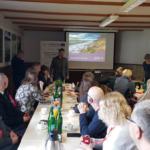 Uczestnicy wydarzenia podczas prelekcji. Autor zdjęcia: dr Dawid Dawidowicz