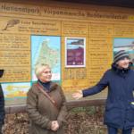 Informacje o parku narodowym przekazywała na początku Katrin Bärwald (pierwsza z prawej) Autor zdjęcia: dr Dawid Dawidowicz