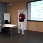 Prof. Hartmut Rein podczas prezentacji Autor zdjęć: Arkadiusz Malkowski