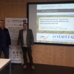 Od lewej: dr Arkadiusz Malkowski oraz dr Wojciech Zbaraszewski – Kierownik projektu INT107 Autor zdjęcia: prof. Marius Mayer