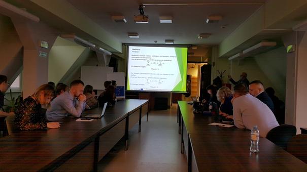 Präsentation von Dr. Krzysztof Dmytrów von der Universität Szczecin Foto: Dr. Dawid Dawidowicz