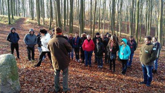 Teilnehmer des Treffens während des Aufenthalts in der Buchheide Foto: Wojciech Zbaraszewski