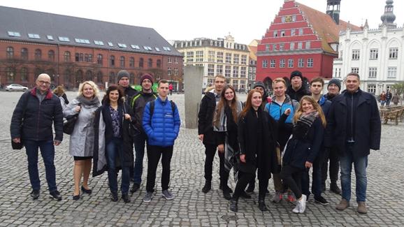 Teilnehmer des Seminars in Greifswald Foto: Prof. Marius Mayer