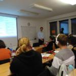 Podczas seminarium miał miejsce wykład prof. Mariusa Mayera z Uniwersytetu w Greifswaldzie. Autor zdjęcia: Wojciech Zbaraszewski