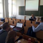 Uczestnicy spotkania podczas dyskusji Autor zdjęcia: dr Dawid Dawidowicz
