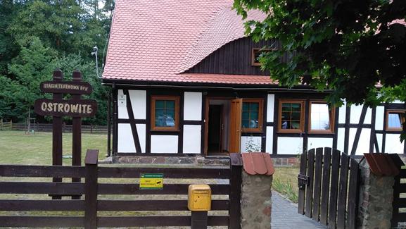 Miejsce spotkania w Ostrowitem Autor zdjęcia: dr Wojciech Zbaraszewski