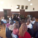 Prof. Hartmut Rein während der Präsentation Foto: Dr. Arkadiusz Malkowski
