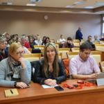 Teilnehmer des Treffens, im Vordergrund in der Mitte Frau Agata Suchta und Herr Igor Szakowski von der Landschaftsschutzparkverwaltung. Foto: Dr. Arkadiusz Malkowski