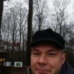 Selfie von Dr. Wojciech Zbaraszewski während der Umfrage in Wolin.