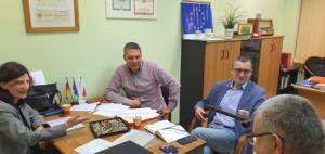 Teilnehmer des Treffens in der Diskussion. Foto: Dr. Dawid Dawidowicz